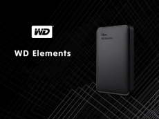 WD Elements Portable External Hard Drive 1TB