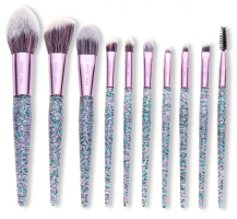 Purple Makeup Brushes