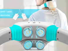 Electric Tens Pulse Neck Shoulder Massager