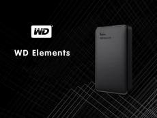 WD Elements Portable External Hard Drive 1TB