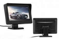 """4.3"""" TFT LCD Car Rear View Monitor Night Vision Reverse Camera Black"""