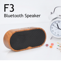 Portable Retro Wood Grain Bluetooth Speaker Wireless