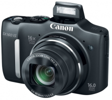 Canon SX160 IS 16.0 MP Digital Camera