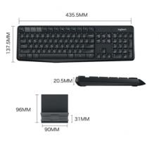 Logitech K375s Multi-device Quiet Keyboard