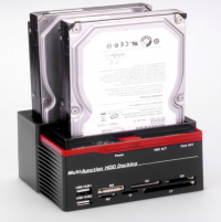 Multi-functional SATA Hard Drive Dock