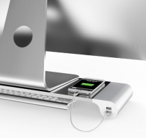 Smart 4 USB Port Desktop Base Holder