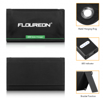 FLOUREON Solar Panel