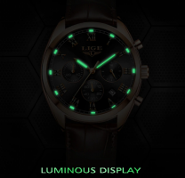 2019 LIGE Mens Watch