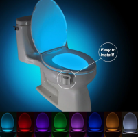 8 Color Auto-Sensing Toilet Light