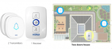 KERUI M525 Home Security Welcome Wireless Doorbell Smart