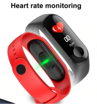 Color Screen Smart Band Sport Fitness Bracelet Waterproof Wristband Blood Pressure Oxygen Activity Tracker watch For Men  Women