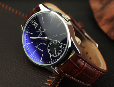 Yazole New  Leather Quartz Watches