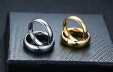 VNOX  WEDDING RINGS