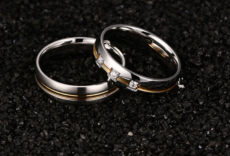 Vnox Vintage Wedding Ring