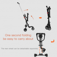 BABY THREE WHEEL STROLLER