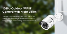 ZOSI  Wifi  Security Camera