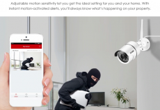 ZOSI  Wifi  Security Camera